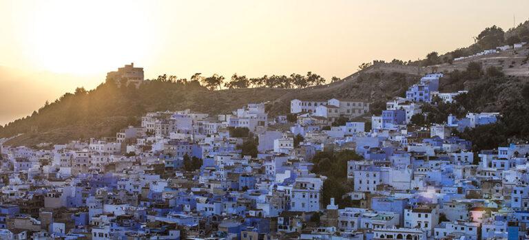 Marokkos blå perle
