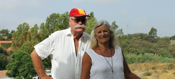 Morten og Pia Møller.