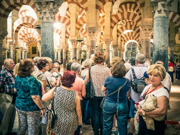 Moské-katedralen i Córdoba