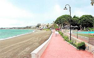 strandpromenade estepona