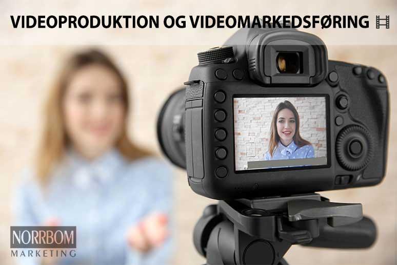 Videoproduktion og videomarkedsføring