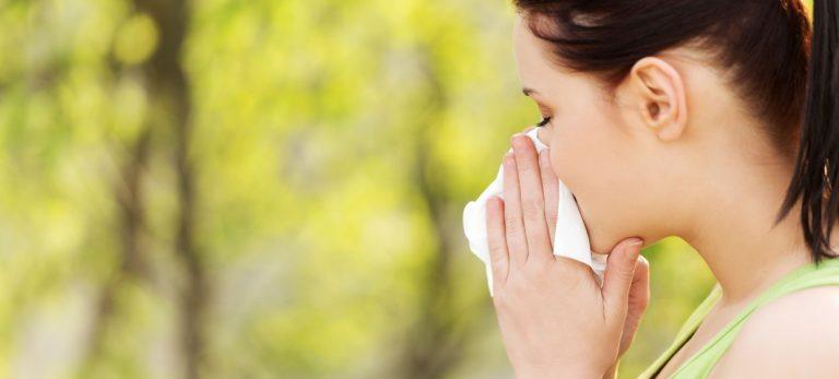 Sæsonbetinget allergi