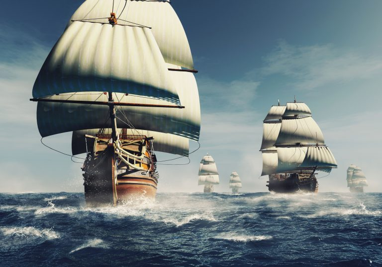 Lidt historie: Den uovervindelige spanske flåde