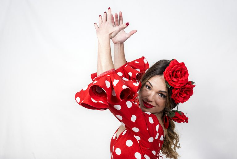 Hvorfor er der prikker på flamencokjolerne?
