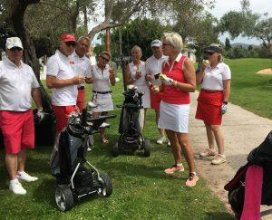 Grundlovsmatch på Lauro Golf Resort