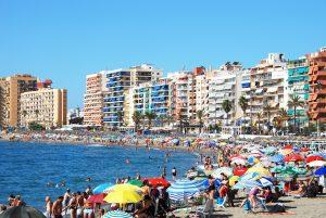 Blå flag vejrer over Fuengirolas strande