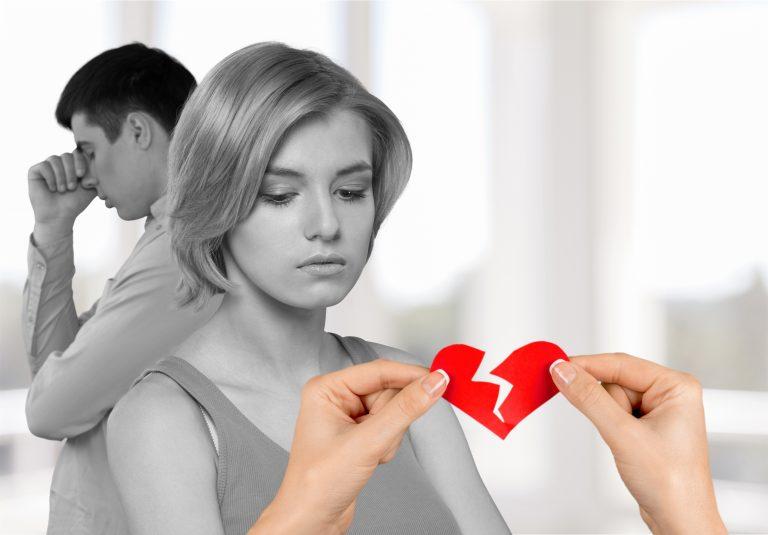 Skilsmisser og separationer er steget 5,7%