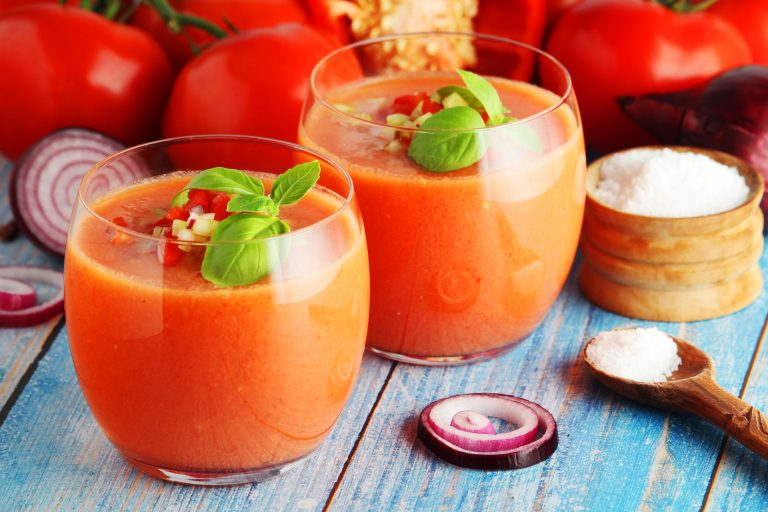 Andalusisk gazpacho