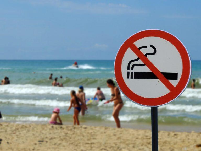 320.000 underskrifter for ikke-ryger strande
