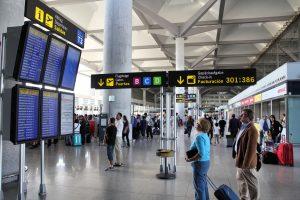 Fuld aktivitet i Málaga Lufthavn