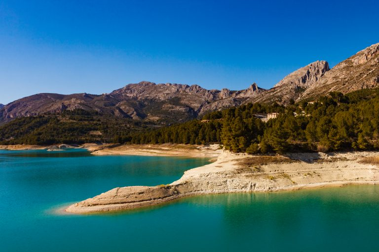 Málaga-provinsens vandreservoirer under 50%