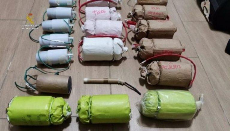 Ulovlig bombefabrik afsløret i boligkvarter i Sevilla