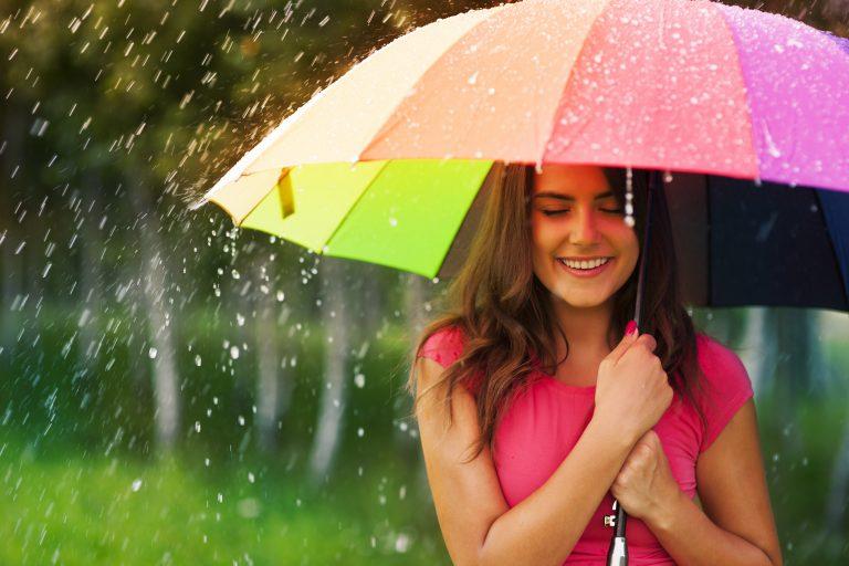 Tid til at finde paraplyen frem