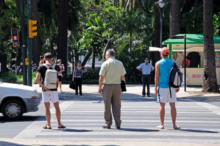Málagas Alameda Principal lukkes for trafik