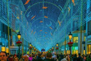 Så tænder julelyset i Málaga!